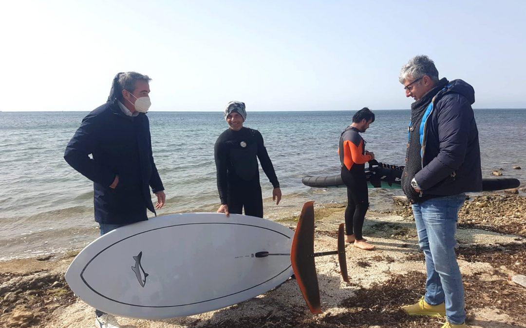 Turismo del Kitesurf a Marsala e allo Stagnone: abbiamo incontrato l'ass. al Turismo Alagna